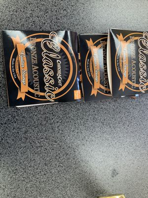 3 acoustic guitar strings for Sale in Huntersville, NC