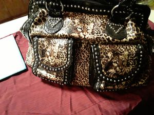 Animal print purse for Sale in Perris, CA
