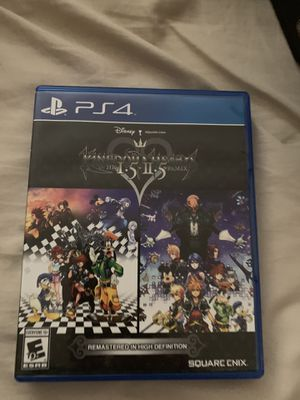Kingdom hearts 1.5 and 2.5 remastered for Sale in Aurora, CO