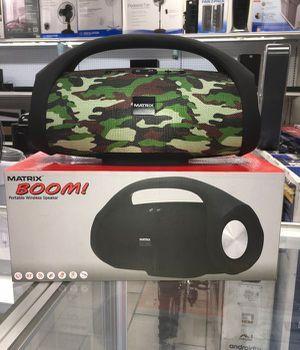 Speaker Audio Music Bluetooth Portable Bocina Parlante Matrix for Sale in Miami, FL