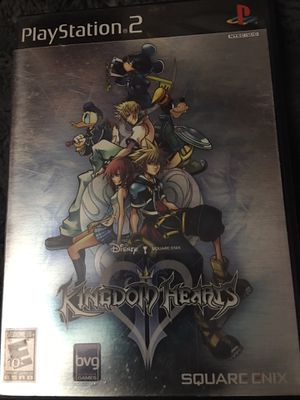 Kingdom hearts 2 ps2 for Sale in Pelham, NH