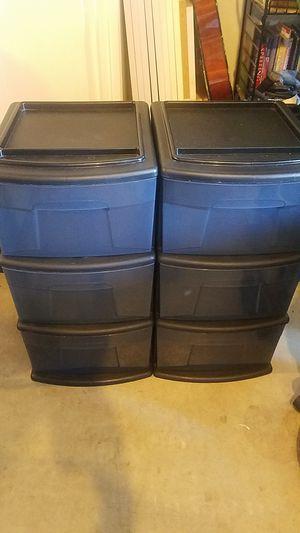 Storage bins plastic for Sale in Chula Vista, CA