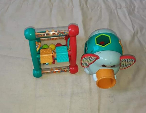 Two baby toys