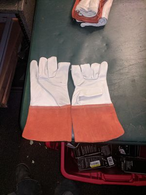 Welders gloves leather for Sale in Temple, GA