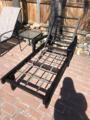 Wooden Chaise Pool/Patio Lounge Chair (no cushion) for Sale in Hanford, CA