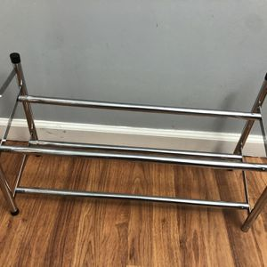 Metallic Shoe Rack for Sale in Woodbridge, VA