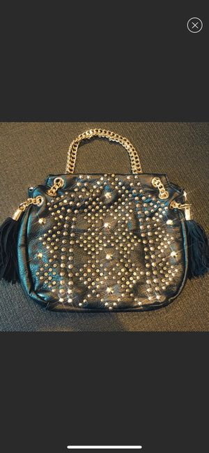 NEW Black Diamond Studded Hand Bag for Sale in Riverside, CA