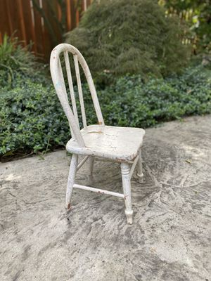 Antique Toddler Chair -Photo Prop for Sale in Wilsonville, OR