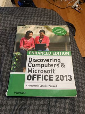 Discovering Computers & Microsoft Office 2013 for Sale in Washington, DC