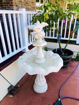 Concrete doves in love fountain 4ft for Sale in Port Orange, FL