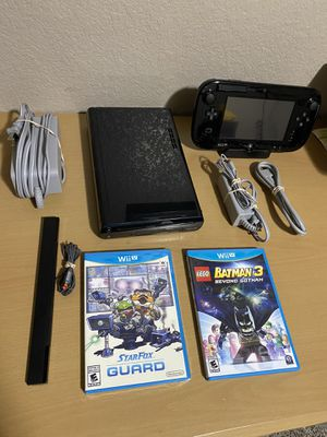 Nintendo Wii U Bundle for Sale in Temple, TX
