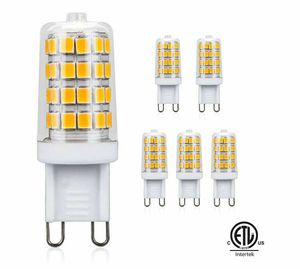 G9 LED Bulb Warm White 3000K 4W 350LM 35W Halogen Equivalent, AC 110V-130V, Non-Dimmable G9 LED Light Bulbs for Indoor Lighting (Pack of 5) for Sale in Rancho Cucamonga, CA