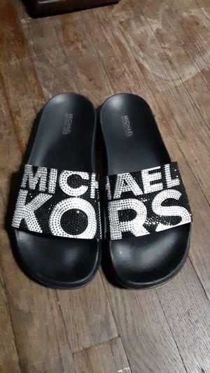 Michael Kors slides sz 5 for Sale in Camden, NJ