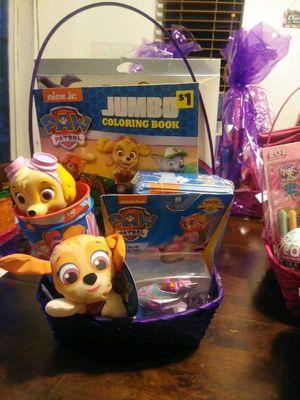 Paw Patrol Easter Basket for Sale in Visalia, CA