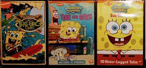 Squarepants spongebob DVDS for Sale in Oklahoma City, OK