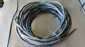 Heavy gage electrical wire left over from hot tub install for Sale in Chula Vista, CA