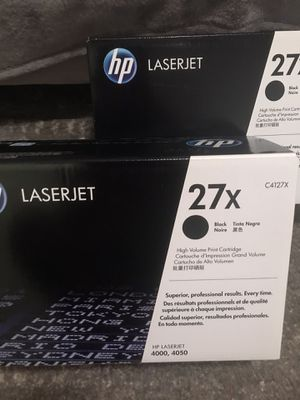 3 hp 27x Cartridges for Sale in Wallingford, CT