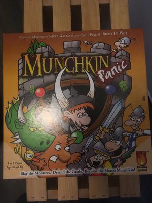 Munchkin Panic Board Game for Sale in Hilliard, OH