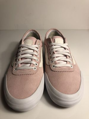 Chalk pink chima Ferguson spitfire burn forever collab Vans size 8.5 worn twice for Sale in FL, US