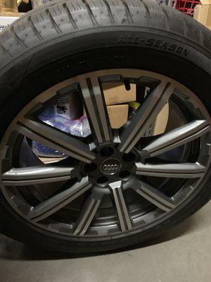 "20"" Audi Q7 S-line OEM wheels, rims tires for Sale in Chandler, AZ"