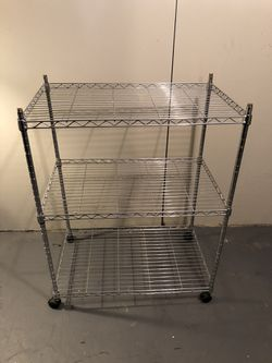 Steel 3 Storage Shelf for Sale in Cicero,  IL