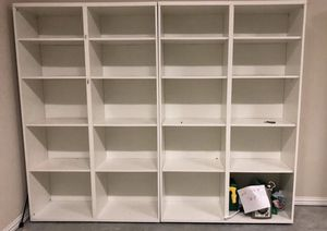 Two double bookshelves for Sale in Spring, TX