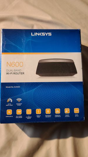 Linksys N600 Wi-Fi Router, $25 firm for Sale in Long Beach, CA