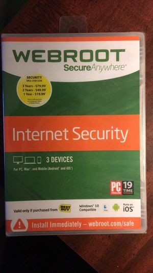 Webroot security for Sale in Manassas, VA