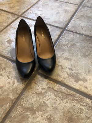 Nine West, black wedge heel pumps. 7 M. Only worn a couple of times. for Sale in Jefferson, LA