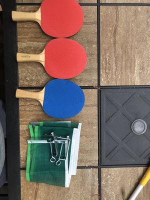 Halex ping pong paddles(And net) for Sale in Olney, MD