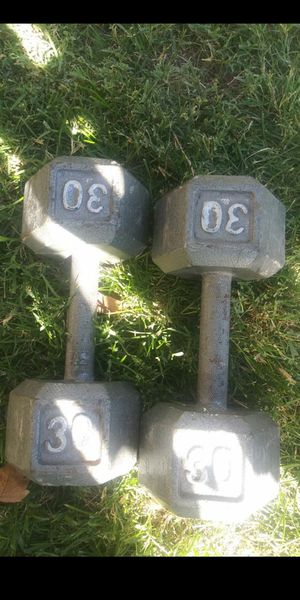 30 pound weights. Like new for Sale in Pasco, WA