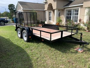 6x12 trailer dual axle 2018 for Sale in Spring Hill, FL