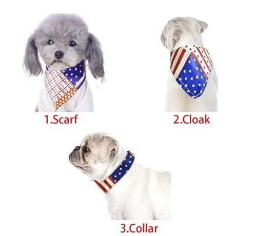Dress Up Your Dogs + Cats! Scarf / Bandana / Collar / Bib - Take Your Pick!