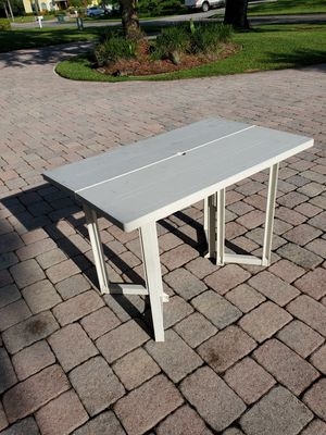 Heavy duty folding table for Sale in Port St. Lucie, FL
