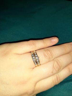 10k gold wedding ring set for Sale in Grenada, MS