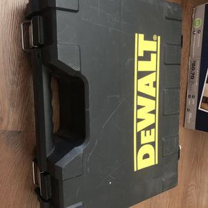 Dewalt 18v Cordless Drill With Carrying Case, 1 Battery And Charger for Sale in Las Vegas, NV