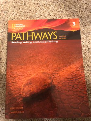 Pathways reading, writing, and critical thinking for Sale in Champaign, IL