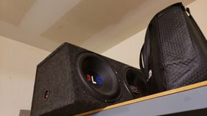 MTX Speaker box with subwoofer for Sale in San Antonio, TX