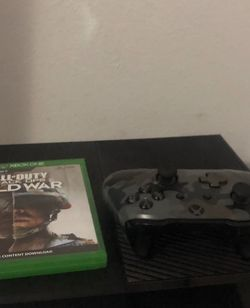Xbox One With Controller And New Game for Sale in Tigard,  OR