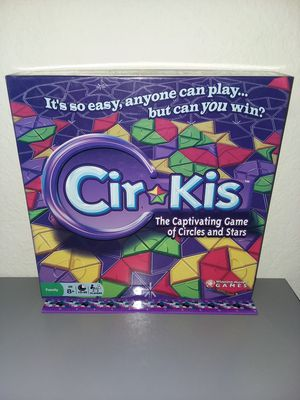 CIRKIS PUZZLE BOARD GAME - COMPLETE - ADULT-OWNED - 2009 WINNING MOVES for Sale in Temecula, CA