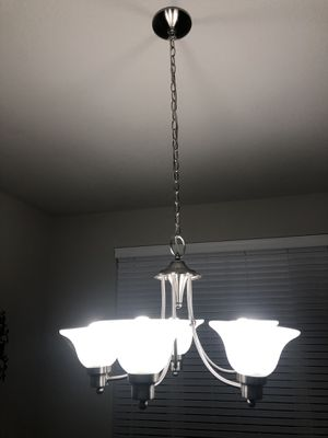 Chandelier for sale 5 bulbs brand new for Sale in Converse, TX