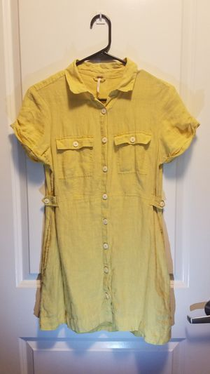 Yellow Italian Love story dress for Sale in Indianapolis, IN
