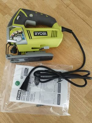 Ryobi variable speed jig saw Factory reconditioned In like new condition refurbished Hablo español for Sale in Fort Lauderdale, FL