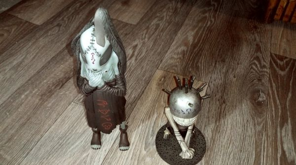 BROM Stickmen Action Figures Old releases (2007), Rare.