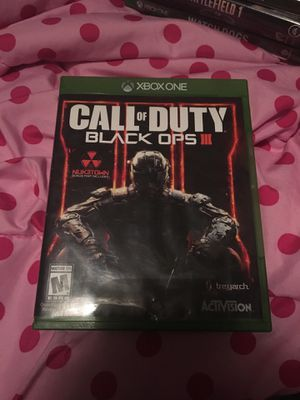 Call Of Duty BLACK OPS 3 for Sale in Newburgh, ME