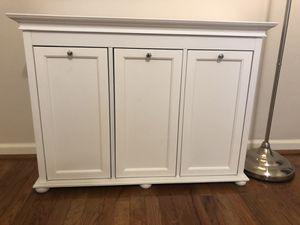 Small White 3 Tilt-Out Drawer Hamper for Sale in Lanham, MD