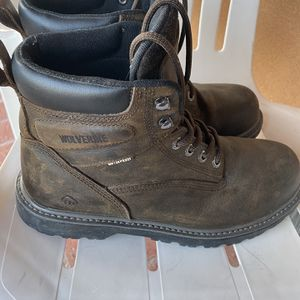Wolverine Steel Work Boots Used Once for Sale in Los Angeles, CA