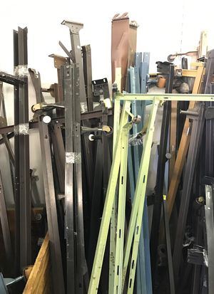 Twin full and queen bed rails for Sale in East Saint Louis, IL