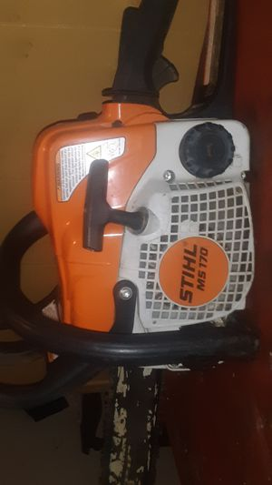 Stihl ms 170 used once for Sale in Bristow, OK