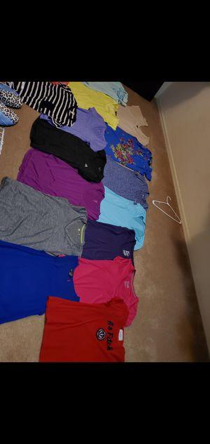 Lot of Clothing Women shirts. SMALL nike ✔ Adida Reebok express ? for Sale in Phoenix, AZ